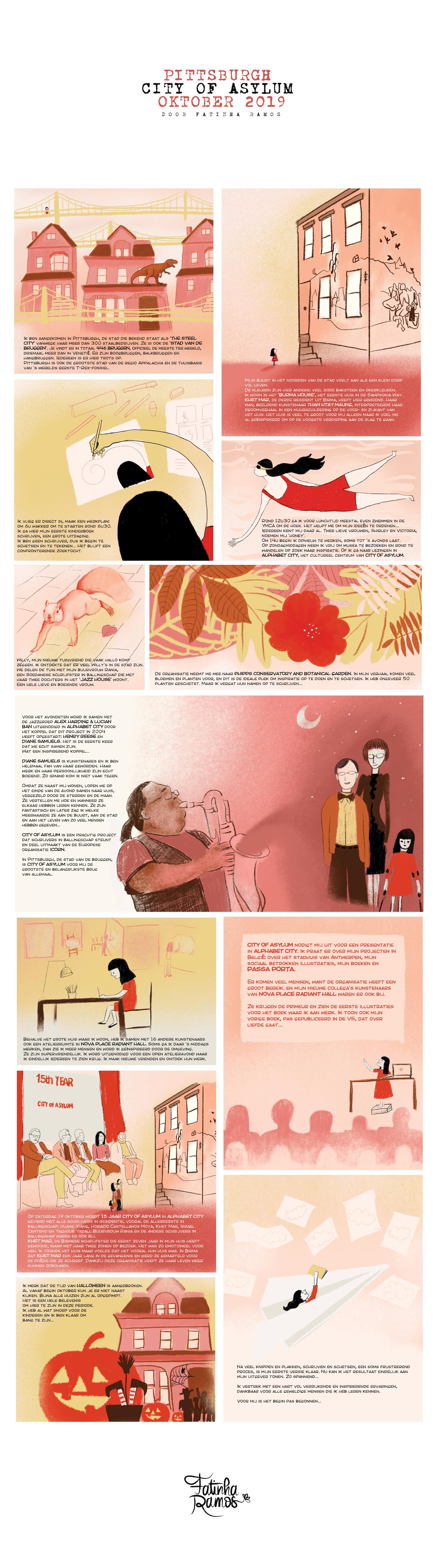 Stripverhaal Fatinha