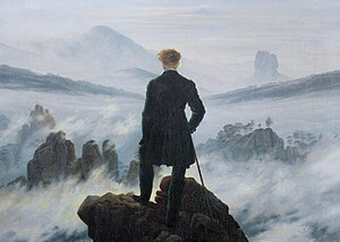 300Px Caspar David Friedrich  Wanderer Above The Sea Of Fog