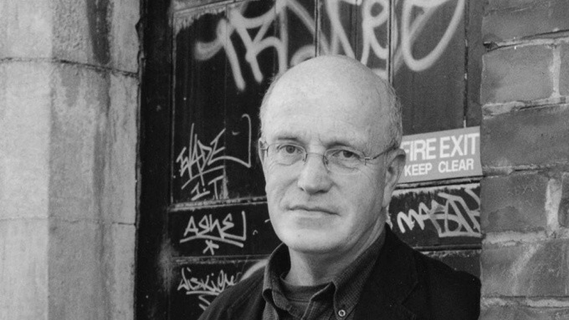 Iain Sinclair Copyright Joy Gordon Bw